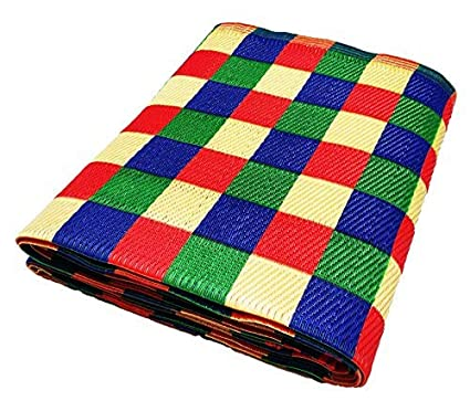 Rdm Big ( 6*9 Ft ), Reversible Plastic Mat/Chatai/Chataee/Chataai,Double Bed Size