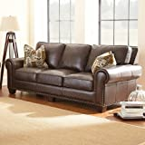 Steve Silver Company Escher Sofa with 2 Accent Pillows, 91'' x 41'' x 38''