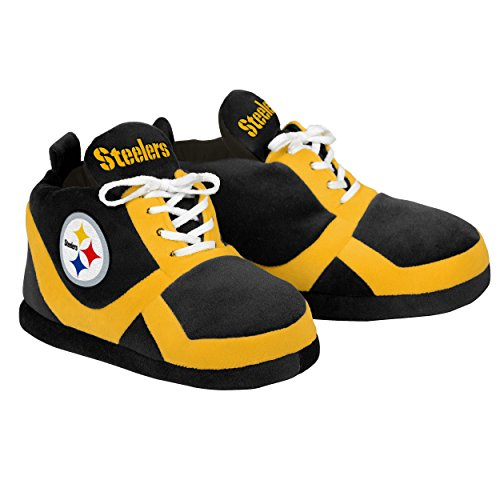 Gnome Steelers Pittsburgh (Pittsburgh Steelers 2015 Sneaker Slipper Large)