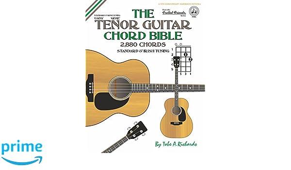 Amazon The Tenor Guitar Chord Bible Standard And Irish Tuning