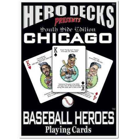 Channel Craft Hero Decks - Chicago White Sox - Playing Cards ()