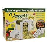 Veggetti Pro Table-Top Spiralizer, Quickly Spiral Slice Vegetables - Best Reviews Guide