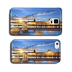 View from Rhone river in Lyon city at sunset cell phone cover case iPhone6 Plus