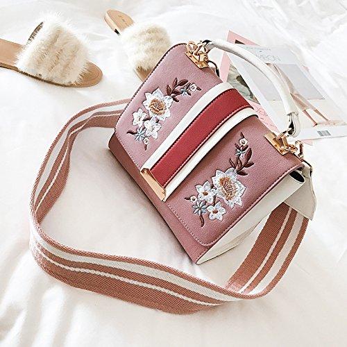 Xh bbag Frauen Paket Neue tragbare Single Single Single Schulter schräg Cross Fashion Bag B078YPF33F Schultertaschen Prägnante Einfachheit d5dd91