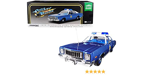 1//18 CHICKASAW COUNTY SHERIFF 1975 PLYMOUTH FURY GREENLIGHT COLLECTIBLES