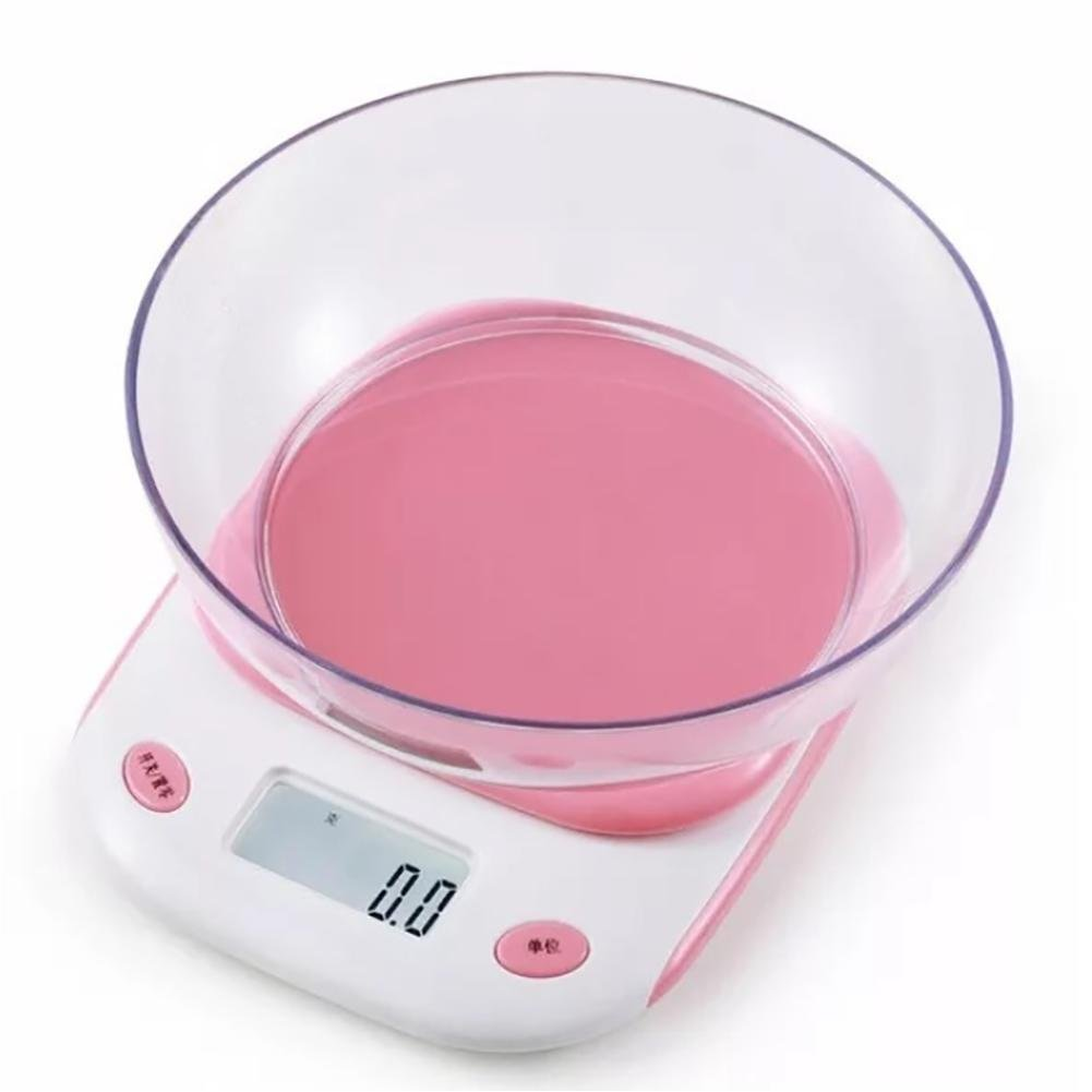 Myhope Básculas de Cocina multifuncionales Básculas electrónicas de balanza Digital, 5g-5000g, con 5 Unidades de pesaje, función de Tara, Pantalla LCD, ...
