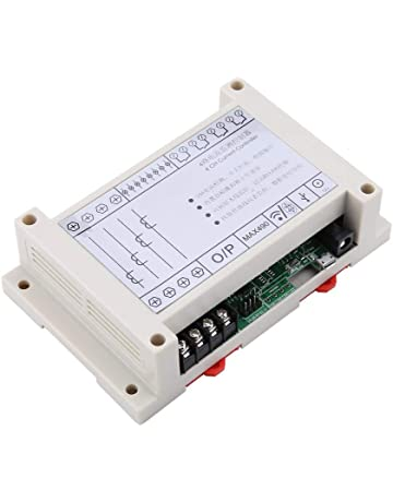 Mootea Current Sensing Switch,SZC10-NO-AL-CH Self Supply Adjustable Normally Open AC Current Sensing Switch AC 1-200A