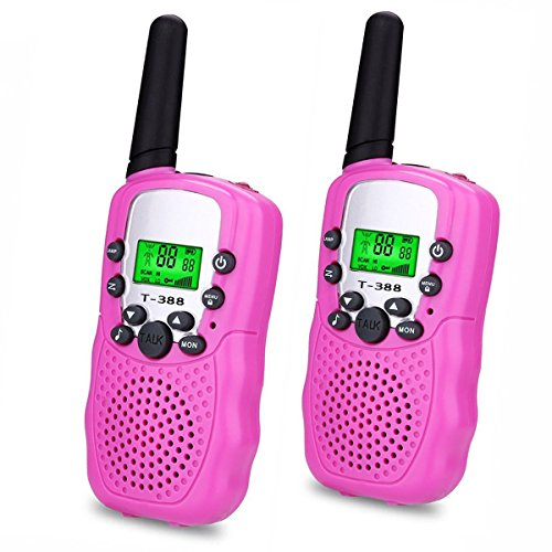 Gifts for Teen Girls, DIMY Walkie Talkies for Kids Toys for Girls Daughter Pink DJ06
