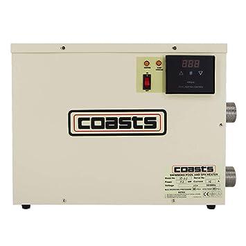 Schwimmbad Swimmingpool Thermostat 220V elektrische Heizung Poolheizung Pool Heater W/ärmetauscher 15KW Thermostat