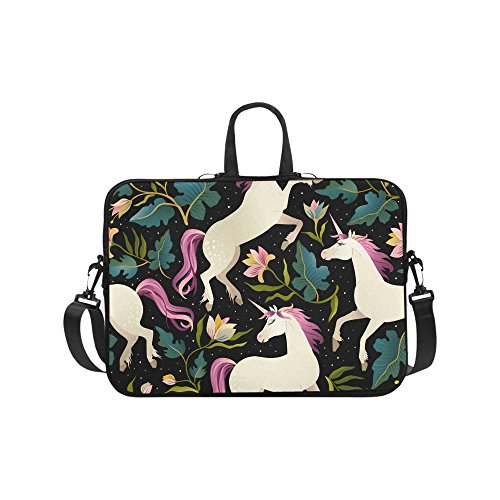 Laptop Sleeve Case 15 15.2 Inch Beautiful Unicorns Resistant
