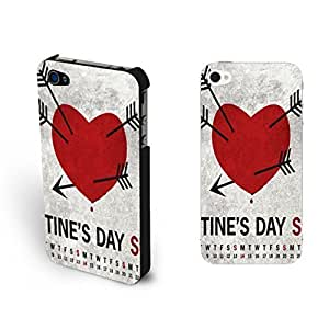 Vintage Monogrammed For HTC One M7 Case Cover Retro Love Heart with Blood Cupid Arrows For HTC One M7 Case Cover Shell for Girls