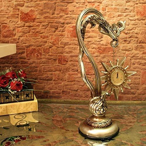 ヨーロッパの家庭用家具クリエイティブ時計と時計オフィス研究ソフト芸術的な樹脂工芸品装飾品 時計機構