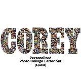 Photo Collage Wood Letter Set (5 Piece)