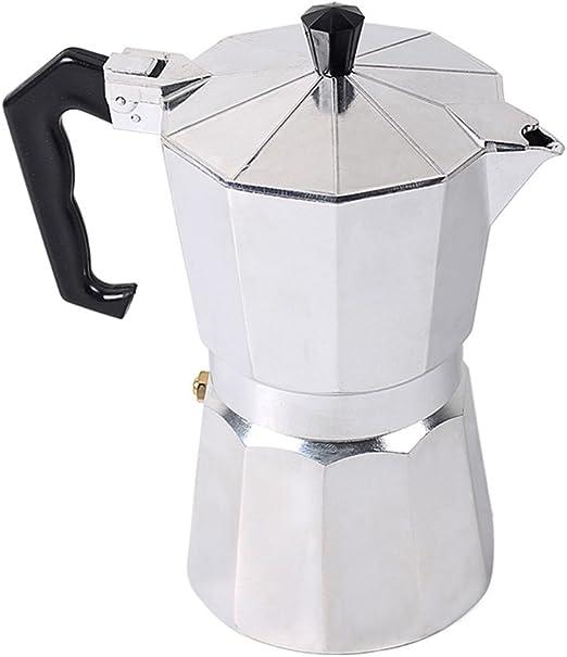 fastar Express Espresso Maker, 1/3/6/9/12 Taza Italiana cafetera ...