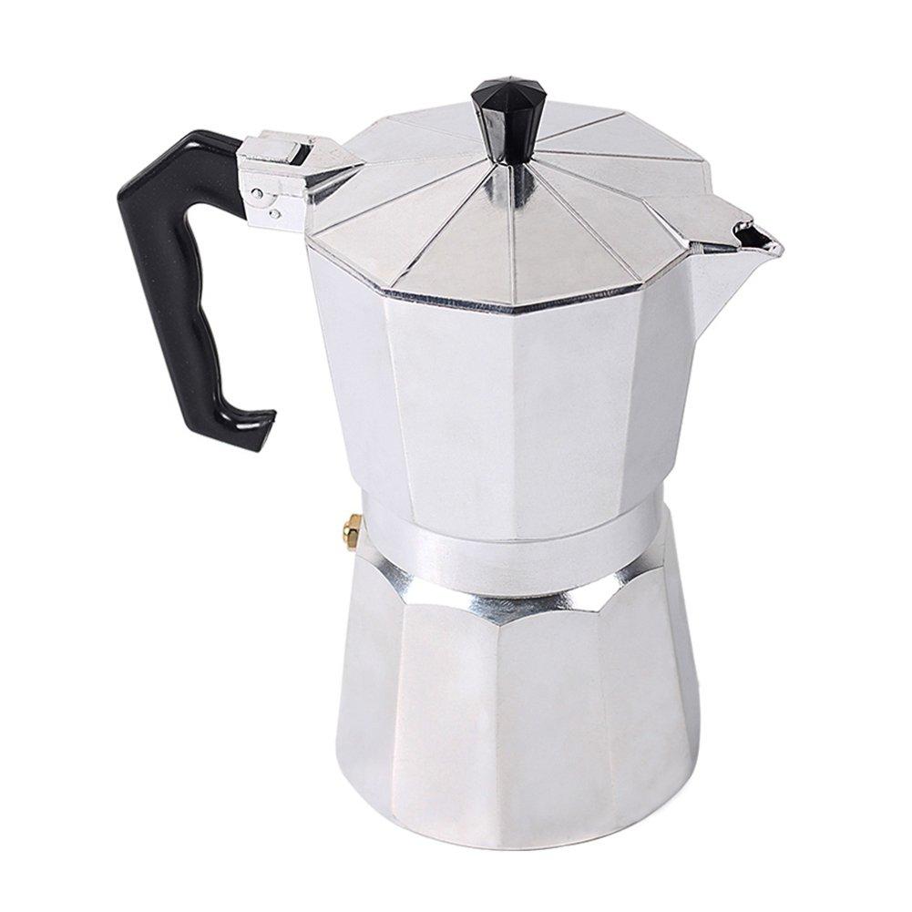 Acquisto Caffettiera Espresso – Stile Italiano – Acciaio Inox – 12 Tazze Prezzi offerta