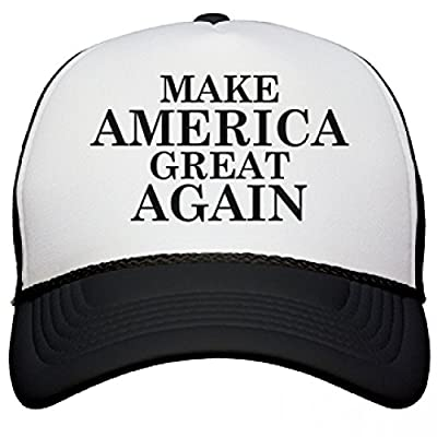 Make America Great Again: Snapback Mesh Trucker Hat