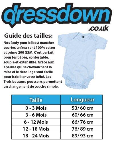 Dressdown La Coupe - France Football - Bébé-Body - 7 Couleur - 0-18 Mois   Amazon.fr  Vêtements et accessoires 690f420aa80