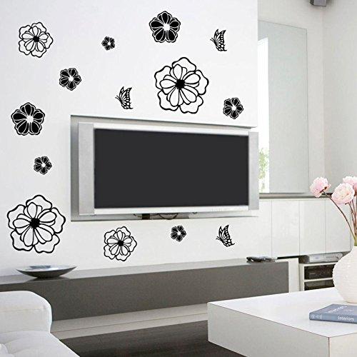Refrigerator sticker 3d wall sticker bedroom wall stickers for Bedroom 3d wall stickers