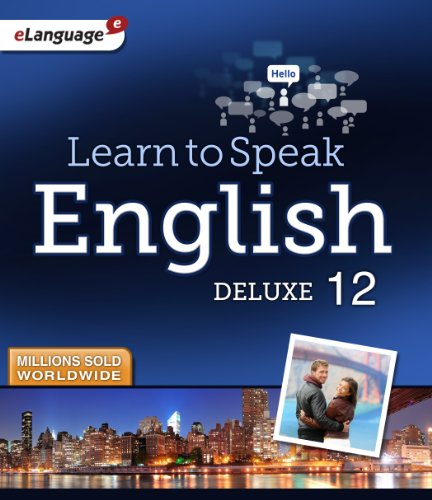 Learn to Speak English Deluxe 12 [Download] by eLanguage