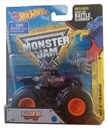 Buy cheap 2015 hot wheels monster jam bad news travels fast battle slammer scale