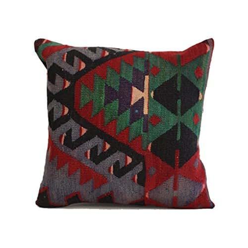 Turkish Kilim Pillow Home Decor Decorative Pillow Home: Amazon.com: 20x20 Kilim Pillow Southwest Pillow Turkish