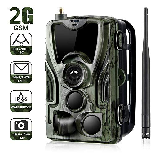 2G Trail Camera 16MP 1080P Wildlife Camera Trap 2.0''LCD, used for sale  Delivered anywhere in Canada