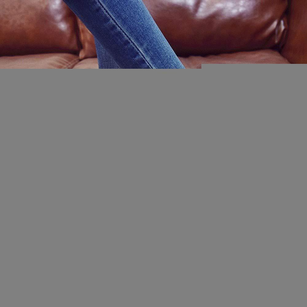 HhGold Schuhe Stiefel Stiefel Stiefel Damen Mode, Damenstiefel Runde Zehe Hohe Dicke Stiefeletten Seitlicher Reißverschluss Mischfarben Frauen Stiefel Kurze Stiefel (Farbe   Schwarz, Größe   CN 36=EU 37)  af8313