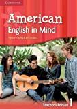 img - for American English in Mind Level 1 Teacher's edition book / textbook / text book