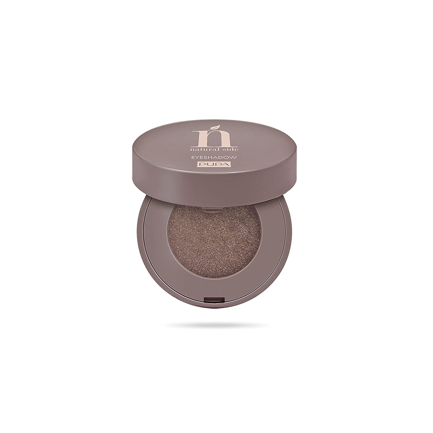 Natural Side Compact Eyeshadow – 008 Chocolate Brown by Pupa Milano for Women – 0.07 oz Eye Shadow
