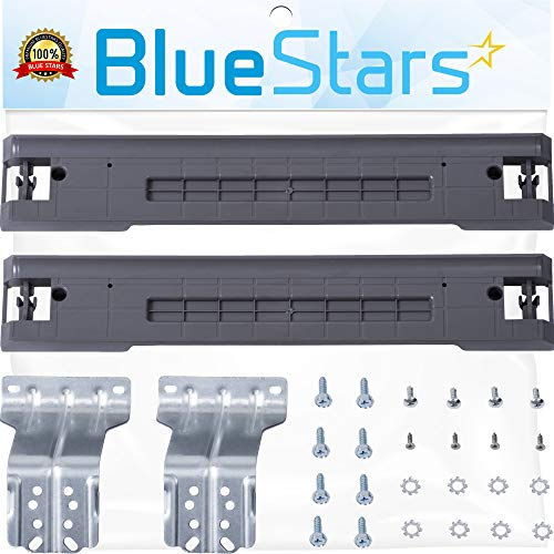 Ultra Durable SKK-7A Stacking Kit Replacement Part by Blue Stars - Exact Fit for Samsung Washers and Dryers (Best Washer And Dryer For Money)