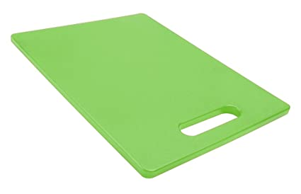 Green Dexas Classic Jelli Cutting Board with Handle 11 by 14.5 inches
