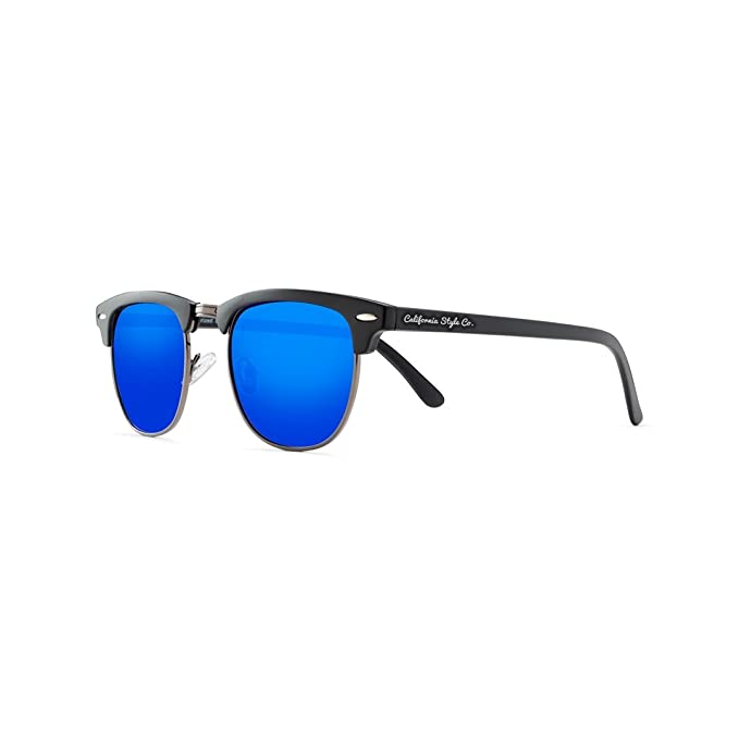 California Style Co. Charly Sheen Gafas de Sol, Azul, 140 ...