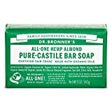 Dr. Bronner's Magic Soap Almond Bar Soap, 1-Count