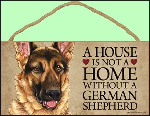 A house is not a home without German Shepherd