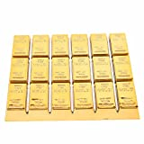 Golden Series Coaster Gold Bullion Cosplay for Cup