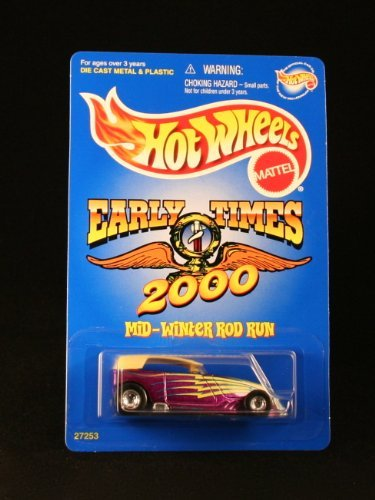 PHAETON * EARLY TIMES 2000 MID-WINTER ROD RUN * Exclusive 2000 Hot Wheels Special Edition 1:64 Scale Die-Cast Vehicle