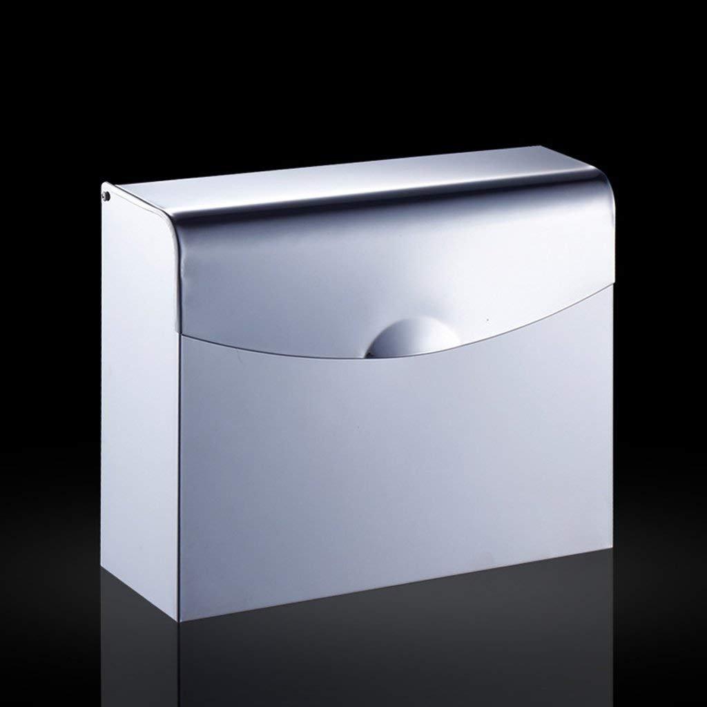 LQB Papel higiénico Rack Toalla de Papel higiénico/Acero Inoxidable Papel higiénico/Papel higiénico Bandeja Papel higiénico Papel higiénico Sostenedor de Papel higiénico