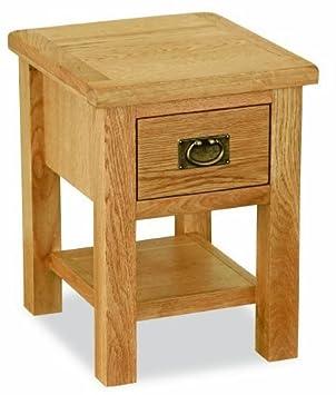 Lanner oak lamp table amazon kitchen home lanner oak lamp table aloadofball Images