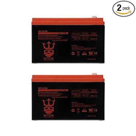 Amazon.com: Neptune NT-1270 - Batería recargable de plomo y ...