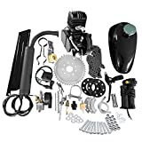 KABOCHO 2-Stroke 80cc Petrol Gas Motor Bicycle Engine Complete Kit Motorized Bike