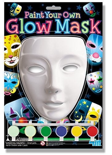 4M Paint Your Own Glow Mask Kit ()
