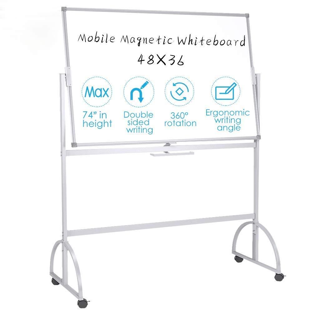 Pizarra blanca para móviles (48 x 36 cm, tablero de borrado ...