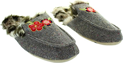 Multicolore And Tweed Loafer Femme Chaussons Ruby Ed Pour 0BaKxq