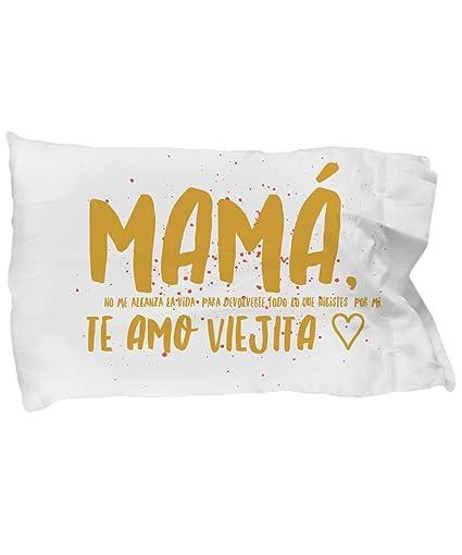 Amazon.com: Regalo para Mama Funda de almuhada almuhadas ...