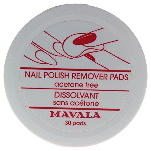Mavala Nail Polish Remover Pads, 30 Count