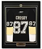 Sidney Crosby Pittsburgh Penguins Team Signed 09 Stanley Cup 35x43 Framed Jersey - Autographed NHL Jerseys review