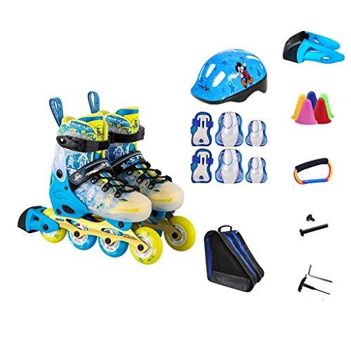 ダブル相互ソケットLIUXUEPING ローラースケート、 スケート、 子供のフルセットのローラースケート、 スケート、 男性と女性のローラーシューズ、 1靴二重目的のスケート