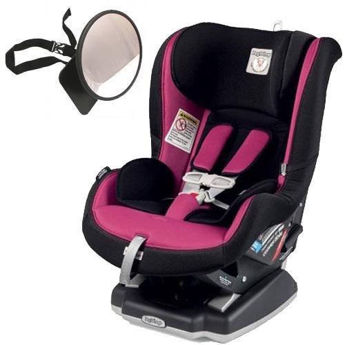 Peg Perego – Primo Viaggio Convertible Car Seat With Back Seat Mirror – Fleur