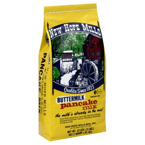New Hope Mills Mix, Pancake, Buttermilk, 2-Pound (Pack of (New Hope Mills)