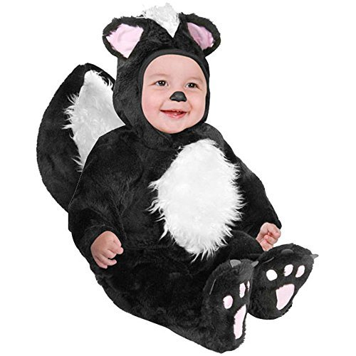 Infant Baby Black Skunk Halloween Costume (18-24